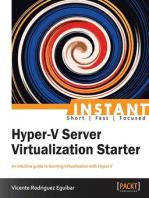 Instant Hyper-V Server Virtualization Starter