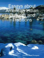Essays About American Indian Cultures and Traditions