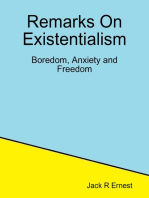Remarks On Existentialism