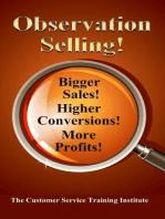 Observation Selling!