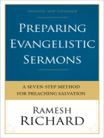 Preparing Evangelistic Sermons