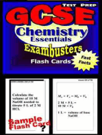 GCSE Chemistry Test Prep Review--Exambusters Flash Cards
