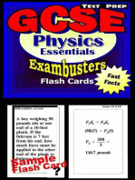 GCSE Physics Test Prep Review--Exambusters Flash Cards