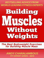 Building Muscles Without Weights For Men - Best Bodyweight Exercises For Building Muscle Mass
