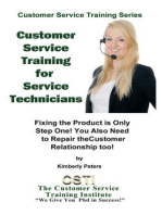 Customer Service Training for Service Technicians (Customer Service Training Series, #9)