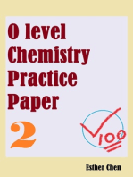 O level Chemistry Practice Paper 2