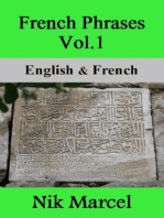 French Phrases Vol.1: English & French