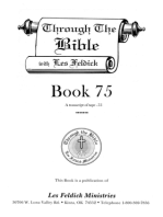 Through the Bible with Les Feldick, Book 75