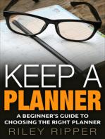 Keep a Planner