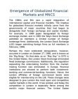 Study on Emergence of Globalized Financial Markets and MNCS