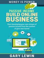 Passive Income :Build Online Business