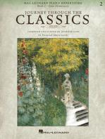 Journey Through the Classics: Book 2 Late Elementary: Hal Leonard Piano Repertoire