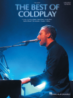 The Best of Coldplay for Easy Piano - Second Edition
