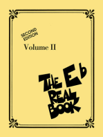 The Real Book - Volume II: Eb Edition