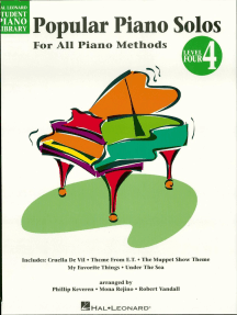 Popular Piano Solos - Level 4, 2nd Edition: Hal Leonard Student Piano Library