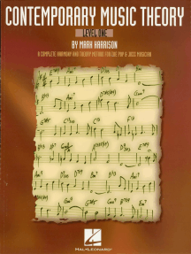 Contemporary Music Theory - Level One: A Complete Harmony and Theory Method for the Pop and Jazz Musician