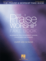 The Praise & Worship Fake Book: B Flat Edition