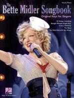 The Bette Midler Songbook - Original Keys for Singers