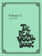 The Real Vocal Book - Volume I: Low Voice Edition