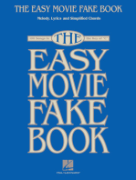 The Easy Movie Fake Book: 100 Songs in the Key of C