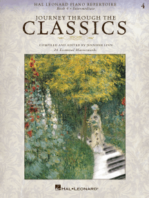 Journey Through the Classics: Book 4 Intermediate: Hal Leonard Piano Repertoire