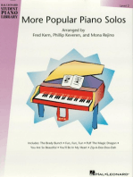 More Popular Piano Solos - Level 2