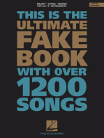 The Ultimate Fake Book - 5th Edition: C Edition