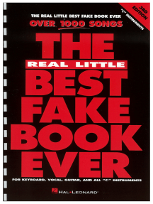 The Real Little Best Fake Book Ever (Songbook): C Edition