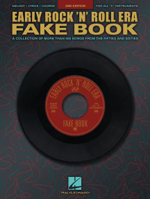 Early Rock'N'Roll Era Fake Book (Songbook)