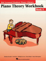 Piano Theory Workbook - Book 5