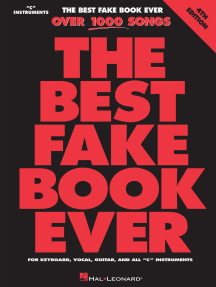The Best Fake Book Ever - 4th Edition: C Edition