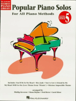 Popular Piano Solos - Level 5, 2nd Edition: Hal Leonard Student Piano Library