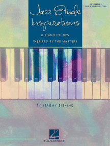 Jazz Etude Inspirations: National Federation of Music Clubs 2020-2024 Selection