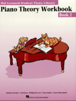 Piano Theory Workbook - Book 2: Hal Leonard Student Piano Library