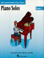 Piano Solos Book 1 - Book with Online Audio and MIDI Access