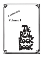 The Real Rock Book - Volume I: C Instruments