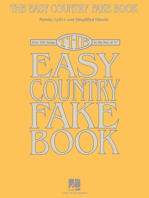 The Easy Country Fake Book: Over 100 Songs in the Key of C