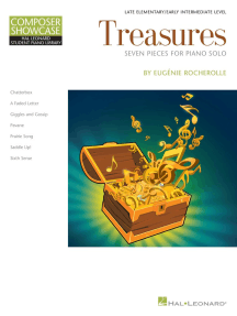 Treasures: HLSPL Composer Showcase NFMC 2014-2016 Selection Late Elementary/Early Intermediate