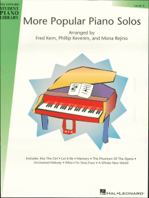 More Popular Piano Solos - Level 4: Hal Leonard Student Piano Library