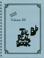The Real Book - Volume III: Bb Edition