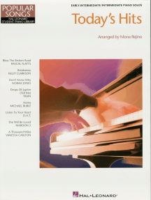 Today's Hits: Hal Leonard Student Piano Library Popular Songs Series