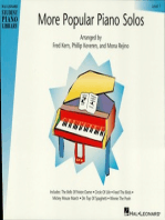 More Popular Piano Solos - Level 1