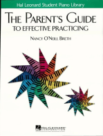 The Parent's Guide to Effective Practicing