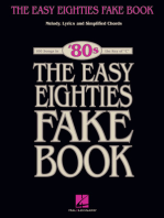 The Easy Eighties Fake Book