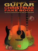 The Ultimate Guitar Christmas Fake Book: 200 Holiday Favorites with Melody, Lyrics and Chord Frames