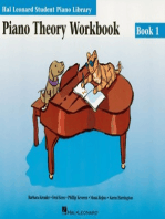 Piano Theory Workbook Book 1