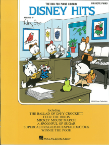 Disney Hits (Songbook): Big-Note Piano