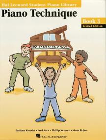 Piano Technique Book 3: Hal Leonard Student Piano Library