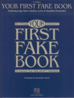 Your First Fake Book