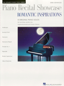Piano Recital Showcase: Romantic Inspirations: National Federation of Music Clubs 2014-2016 Selection